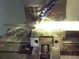 usinage sur TEFLON medical MachineTools.TV