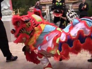 [Nam-Ho-Quyen] Danse de la licorne - Pagode Phap Hoa