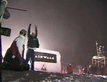 Mt Bachelor Big Air Snowboarding at night