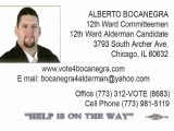 Bocanegra 12th Ward 2011 - Interview 1 of 9 alderman