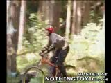 Freeride Mountain Bike Stunts