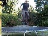 Trampoline Skateboarding
