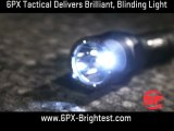 The Brightest Flashlights for Its Size, the 6PX Tactical De