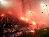 OLYMPIAKOS - PAO 2-1 Fantastic Atmosphere By Olympiakos Fans