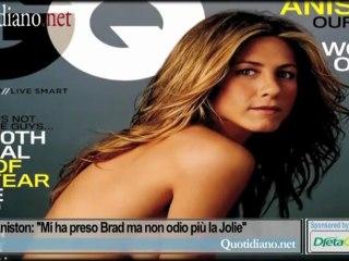 Jennifer Aniston: ''Mi ha preso Brad ma non odio più la Jolie''