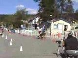 US Championships Breckenridge Tight Slalom Skateboard Race