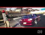 Guy Almost Gets Hit By Drifting Car