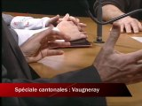 Elections cantonales 2011: le Canton de Vaugneray