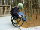 Kevin Crombie: Wheelchair Skateboarder