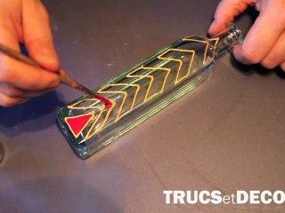 Technique de la peinture sur verre par TrucsetDeco.com