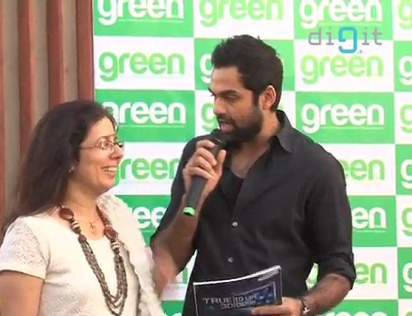 Abhay Deol Goes Green at Green Lifestyle magazine | HQ
