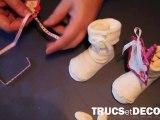 Boite à dragées de baptême par TrucsetDeco.com