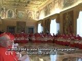 Benedict XVI: Trei noi sfinţi pentru Biserica universală