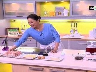 choumicha - recette facile : rôti de poulet farci