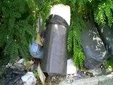 Aversa - Rifiuti speciali smaltiti in strada