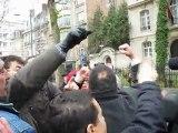 20 fevrrier manifestation ambassade du Maroc Bruxelles