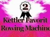 Top 5 Bestselling Kettler Row Machine