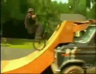 Moving ramp jump