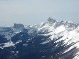 Ski Rando Vercors Les Chaudiaires Mt Aiguille Balcons Est