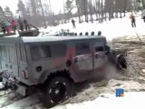 Military Hummer vs civilian Hummer