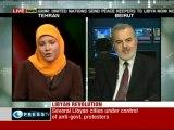 The Libyan revolution: causes/way forward - Press TV panel