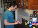 L'apprenti chimiste: des nounours qui font mousse