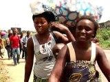 L'exode des populations a Abobo