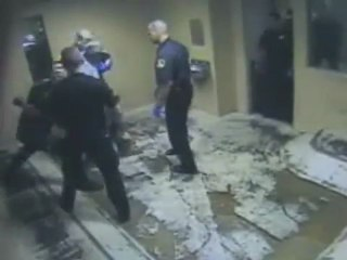 Police Shove Mans Face In Raw Sewage