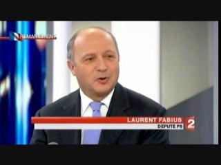 Laurent Fabius sur France 2 dimanche  27 février 2011