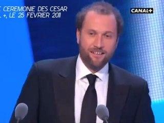 François Damiens César 2011