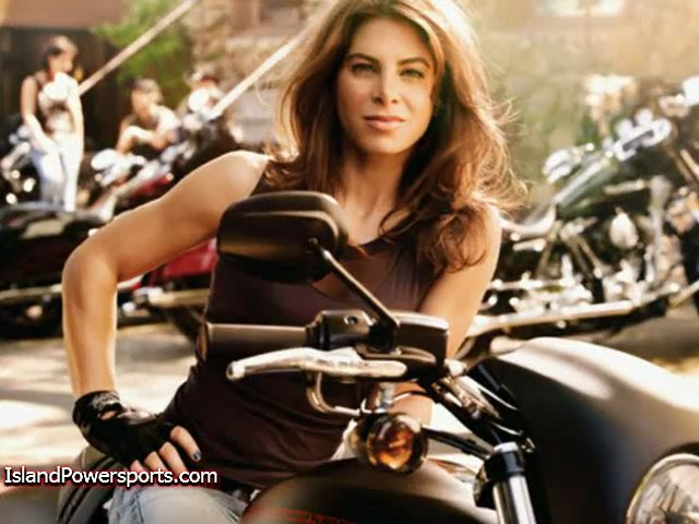 Celebrities Riding Motorcycles!