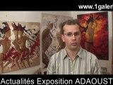 HD galerie d'art exposition Adaoust art contemporain