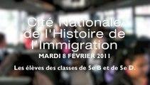 CITE NATIONALE de l'HISTOIRE de L'IMMIGRATION