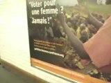 RAcisme dans les Transports Parisiens - Porte Maillot -02/11