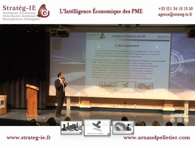 IE & PME - Stratég-IE - Chapitre 5 : Le renseignement.