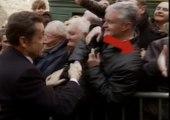 Sarkozy se prend un vent au Puy-en-Velay