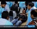 """Les humanitaires français, """"héros"""" à Benghazi"""