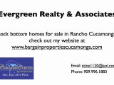 Find rehab properties in Rancho Cucamonga California