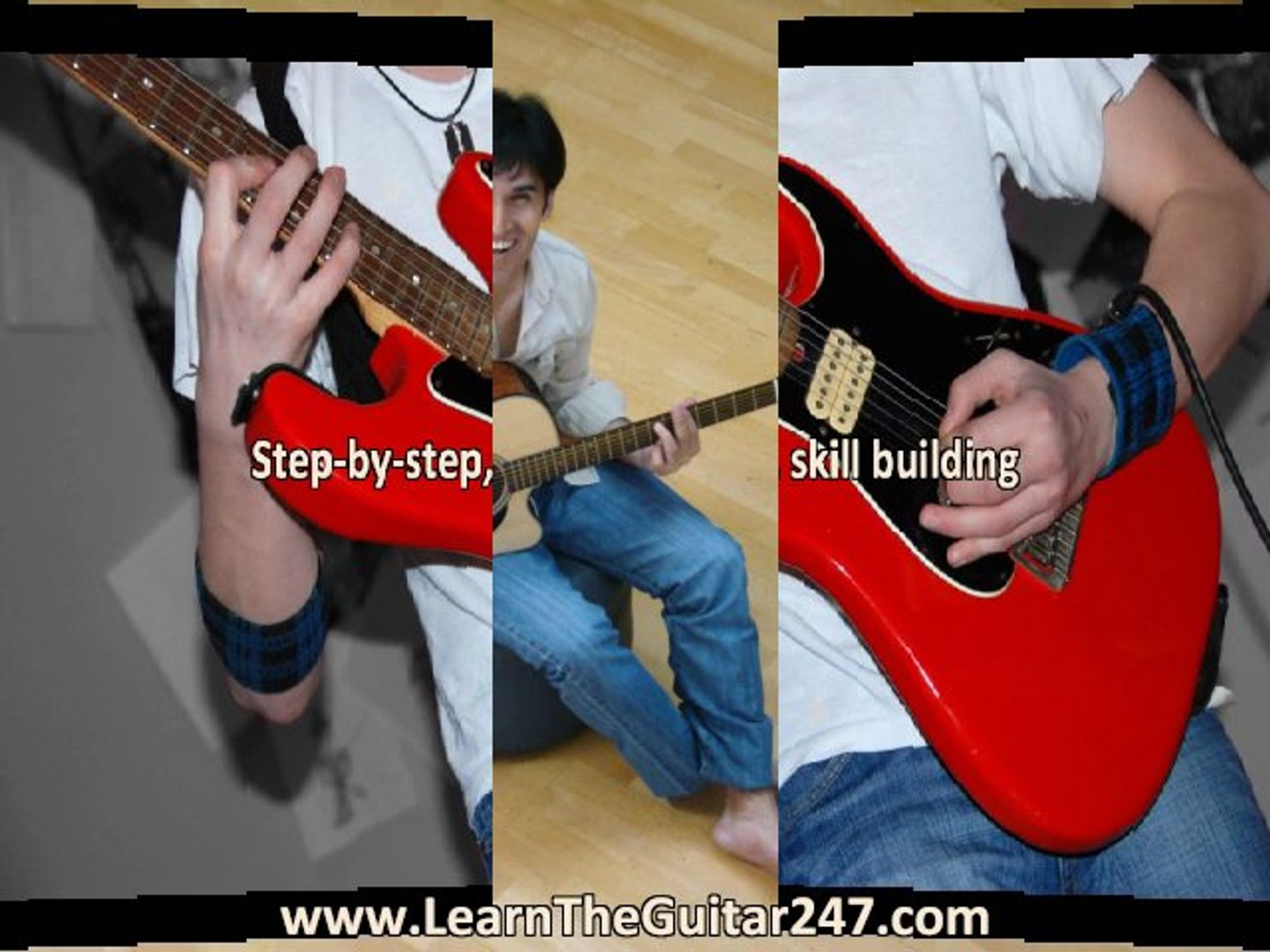 how to learn to play a guitar