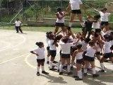 Presentación Chicas de Porrismo EPD Villa Laura