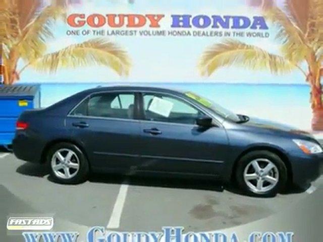 USED HONDA PASADENA 2004 Honda Accord