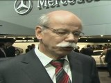 Mercedes-Benz Press Confernce Geneva 2011 Dr. Dieter Zetsche