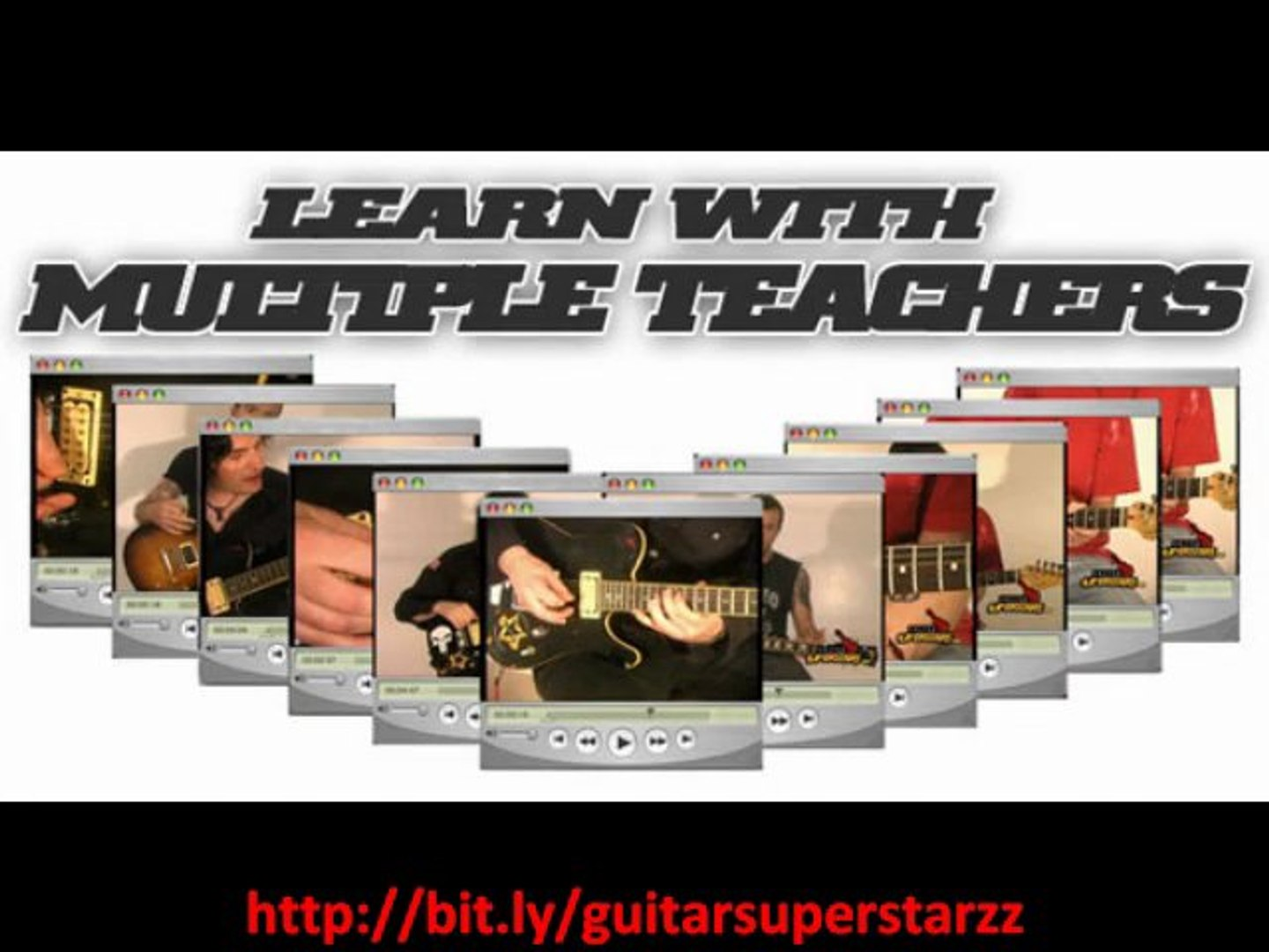 download videos to learn how to play guitar