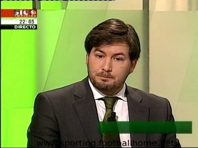 Bruno de Carvalho :: Debate 6 Candidatos ::Eleições Sporting