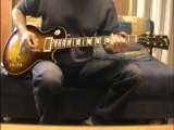 Walking by myself Gary Moore cover Testing my Gibson R-8-0-7