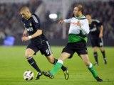 Racing Santander 1-3 Real Madrid Benzema great-double