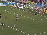25th AEL-Panathinaikos  2-0 Highlights  Novasports 2010-11