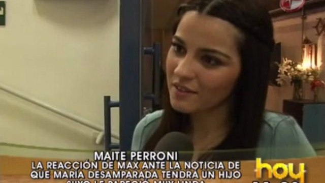 Maite Perroni habla sobre Triunfo del Amor (HOY)