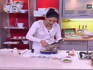Recette de gratin au foie champignons et poivron