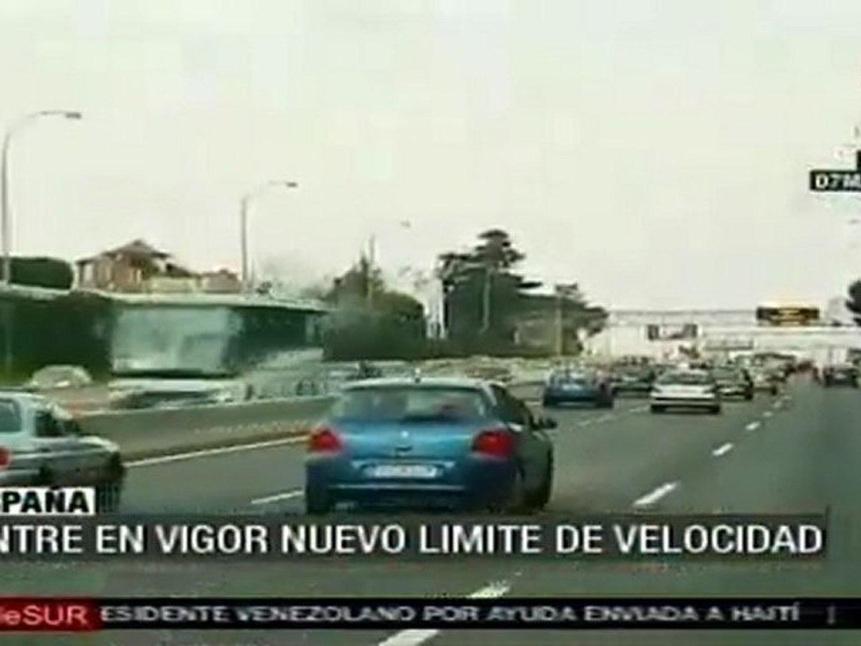 Nuevo límite de velocidad entra en vigor en España